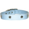 "PAW ORNAMENT COLLAR 1"" x 26"" Baby Blue (66cm) - Click for more info"