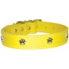 "PAW ORNAMENT COLLAR 1"" x 26"" Yellow (66cm) - Click for more info"
