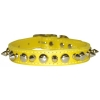 SPIKE & STUD COLLAR 19mm x 46cm Yellow - Click for more info