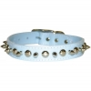 SPIKE & STUD COLLAR 25mm x 66cm Baby Blue - Click for more info