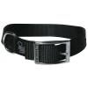 "Prestige SINGLE LAYER NYLON COLLAR 1"" x 18"" Black (46cm) - Click for more info"