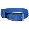 "Prestige SINGLE LAYER NYLON COLLAR 1"" x 20"" Blue (51cm) - Click for more info"