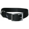"Prestige SINGLE LAYER NYLON COLLAR 1"" x 22"" Black (56cm) - Click for more info"