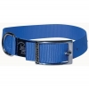 "Prestige SINGLE LAYER NYLON COLLAR 1"" x 22"" Blue (56cm) - Click for more info"