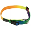 "Prestige RAINBOW ADJ NYLON 3/4"" COLLAR 9-13"" (23-33cm) - Click for more info"