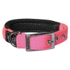 "Prestige SOFT PADDED COLLAR 3/4"" x 16"" Hot Pink (41cm) - Click for more info"