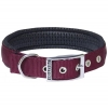 "Prestige SOFT PADDED COLLAR 1"" x 22"" Burgundy (56cm) - Click for more info"