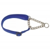 "Prestige 3/4"" ADJ SEMI CHOKE COLLAR 12-20"" Blue (30-51cm) - Click for more info"