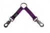 "Prestige TWO-DOG COUPLER 3/4"" x 24"" Purple (61cm) - Click for more info"