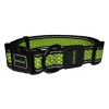 Scream REFLECTIVE ADJ. COLLAR Loud Green 3.2cm x 42-66cm - Click for more info