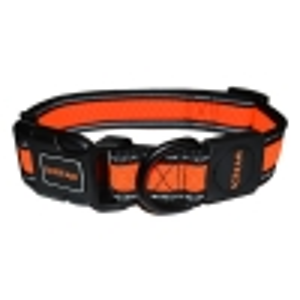 Scream REFLECTIVE ADJ. COLLAR Loud Orange 3.2cm x 42-66cm - Click for more info