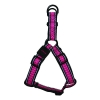 Scream REFLECTIVE STEP IN HARNESS Loud Pink 3.8 x 68-102cm - Click for more info
