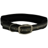 "ZEEZ MEMORY FOAM PADDED COLLAR 1"" x 22"" Grey Ribbon (56cm) - Click for more info"