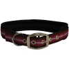 "ZEEZ MEMORY FOAM PADDED COLLAR 1"" x 26"" Red Ribbon (66cm) - Click for more info"