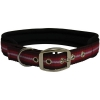 "ZEEZ MEMORY FOAM PADDED COLLAR 1"" x 28"" Red Ribbon (71cm) - Click for more info"