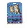 Prestige CAT BELL Shaped 12mm (Card of 24) - Click for more info