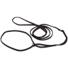 Prestige NYLON SHOW LEAD 5mm x 122cm Black (4ft) - Click for more info