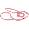 Prestige NYLON SHOW LEAD 5mm x 122cm Pastel Pink (4ft) - Click for more info