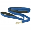 "FLAT NYLON DOG RECALL LEAD Blue (1"" x 7M Long) - Click for more info"