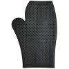 RUBBER GROOMING MITT Black - Click for more info