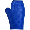 RUBBER GROOMING MITT Blue - Click for more info