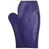 RUBBER GROOMING MITT Purple - Click for more info