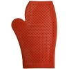 RUBBER GROOMING MITT Red - Click for more info