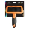 Scream RUBBER CURRY BRUSH Loud Orange - Click for more info