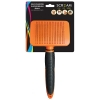 Scream SELF-CLEANING SLICKER BRUSH Loud Orange - Small - Click for more info