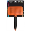 Scream SELF-CLEANING SLICKER BRUSH Loud Orange - Large - Click for more info