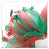 PARTY COLLAR - CHRISTMAS Red & Green Stars Large 35cm - Click for more info