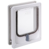Pet-Tek WOOD FITTING CAT DOOR W/TUNNEL 25x20cm White - Click for more info