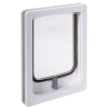 Pet-Tek WOOD FITTING SMALL DOG DOOR SLIMLINE 32.5x24cm White - Click for more info
