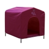 ZeeZ PLATINUM MUTT HUTT DOG HOUSE Shiraz Medium 62x58x63cm - Click for more info
