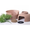 Tuscany HIDDEN CAT LITTER BOX cm48x48x36 (107cm H w/ Plant) - Click for more info