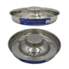 ZEEZ STAINLESS STEEL PUPPY SAUCER - 28cm - Click for more info