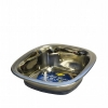 DuraPet SQUARE SS PET BOWL Small - 473mL - Click for more info