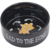 Harley-Davidson - Ceramic Cat Bowl - Bad to the Bone - Click for more info