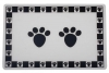 Pet Paws - BLACK PLACEMAT - Click for more info
