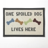 One Spoiled Dog - TAPESTRY PLACEMAT - Click for more info