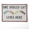 One Spoiled Cat - TAPESTRY PLACEMAT - Click for more info