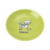 Silly Kitty SAUCER - LIME GREEN 12cm - Click for more info