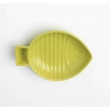 Key West EMBOSSED FISH PET SAUCER Lime 1 Cup - Click for more info