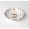 Chic Kitty PET SAUCER White Multi Shimmer 2.5oz - Click for more info