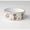 Chic Kitty PET BOWL White Multi Shimmer 2 Cups - Click for more info