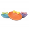 Teeny Tiny Bone Saucer assorted colours 13cm Dia - Click for more info