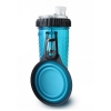 Popware - SNACK DUO 2 x 360ml w/TRAVEL CUP Blue - Click for more info