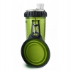 Popware - SNACK DUO 2 x 360ml w/TRAVEL CUP Green - Click for more info