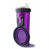 Popware - SNACK DUO 2 x 360ml w/TRAVEL CUP Purple - Click for more info
