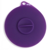 "Popware - FLEXIBLE SUCTION LID 4"" Purple - Click for more info"